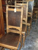 100 - 120 years old chairs set of 6