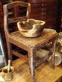 ANTIQUE CHAIR , early 1800