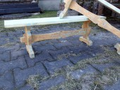 2 ANTIQUE  BENCHES - RESTORED