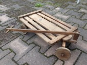 Vintage wood carriage