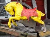Vintage CARUSEL HORSE