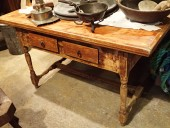 Rustic table , ca 1850